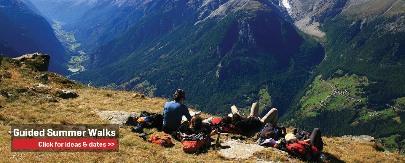 Guided Summer Walking Holidays in Europe